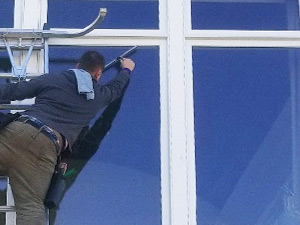 Wayne's Home Services commercial window cleaning services